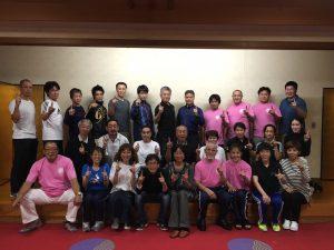 大阪府代表選手の皆さん集合写真(大会前日)