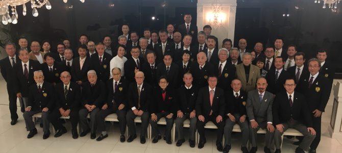 平成29年度府連主催忘年会(12/23)を行いました。