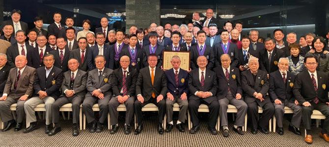 2019年大阪府空手道連盟忘年会の様子